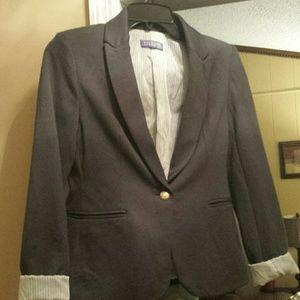 Vivienne blazer gray with silk lining small