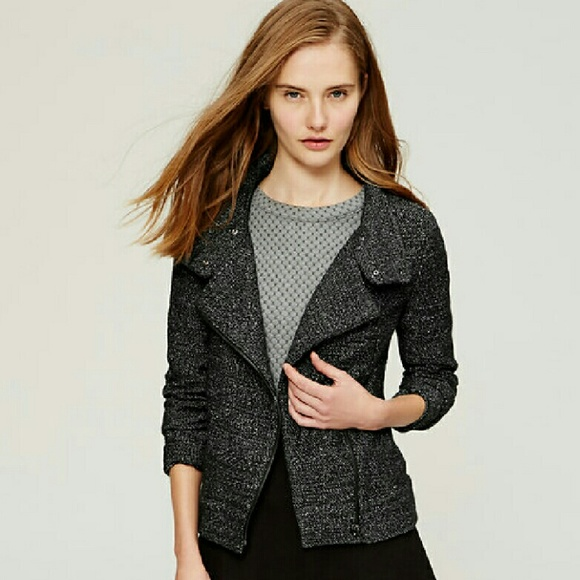 Nwt Loft Womens Tweed Jacket Size 0p Petite Suits & Suit Separates