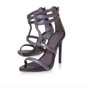 Kurt Geiger Metallic Sandal Heels