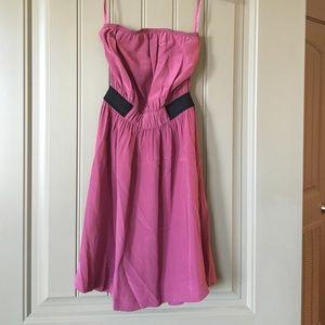 Ecote Dresses & Skirts - Pink strapless dress