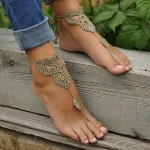 New! Barefoot sandals!