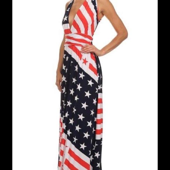American Flag Formal Dresses Fashion Dresses