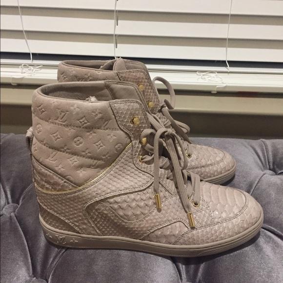 d14c6062a68 Louis Vuitton Cliff Top Sneaker NWT