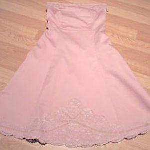 Anthropologie Dresses & Skirts - Gorgeous Anthropolgie Blush Pink Strapless Dress💗