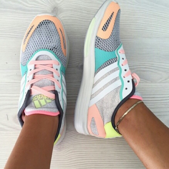 31 off adidas by stella mccartney shoes adidas stella mccartney pastel sneakers from natalia. Black Bedroom Furniture Sets. Home Design Ideas