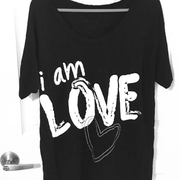 Peace Love World I Am Love T Shirt