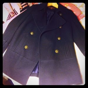 7 for all mankind Navy Peacoat XS