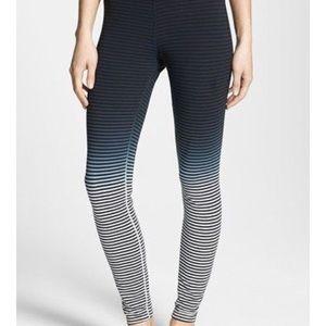 Ombré striped Nike leggings