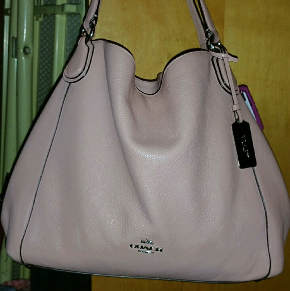 e09945bc359f Coach Handbags - EDIE SHOULDER BAG 31 IN REFINED PEBBLE LEATHER