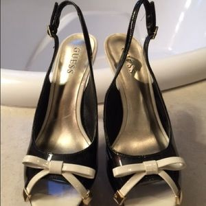 Guess Shoes - Bow Slingbacks