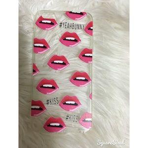 Iphone 6 plus Lips Case