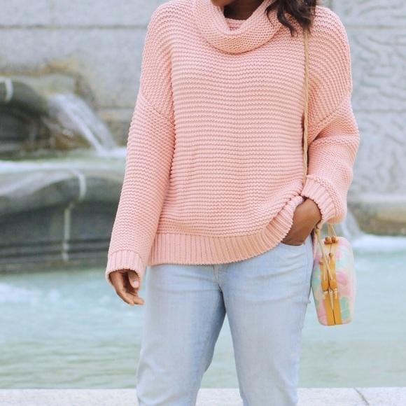 60% off Zara Sweaters - Zara Turtleneck Chunky Knit from Seyi's ...