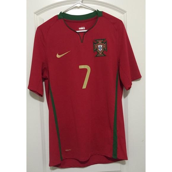 57957abd4 Cristiano Ronaldo 2008 Portugal Away Jersey. M 570c897a981829e8e5086f63