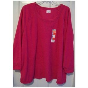 Danskin Now Sweaters - Danskin Now Plus Size Fleece Pullover 2x