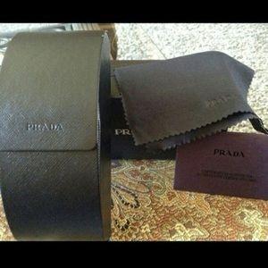 Authentic Prada case with authenticity card.