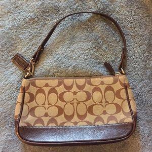 Coach Handbags - Small Coach bag. 8.5 x 4.5 inches.
