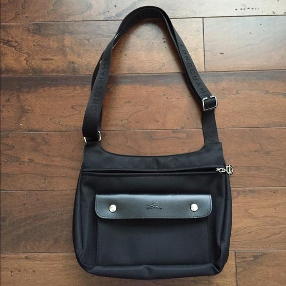 Longchamp Handbags - Longchamp black Planetes Crossbody bag b3359f20aac