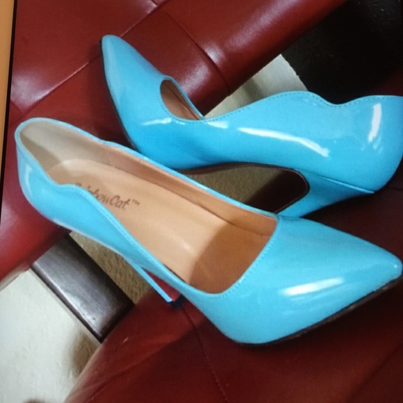 45c8166c81f Christian Louboutin Shoes - RED BOTTOMS TIFFANY BLUE SCALLOP EDGE