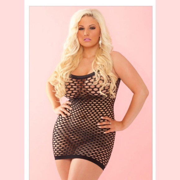 Plus Size Lingerie Intimates Sleepwear Lurex Shimmer Lingerie
