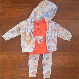 Other - Carters baby girl matching set