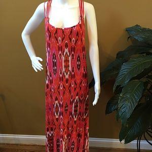 Knit full length dress