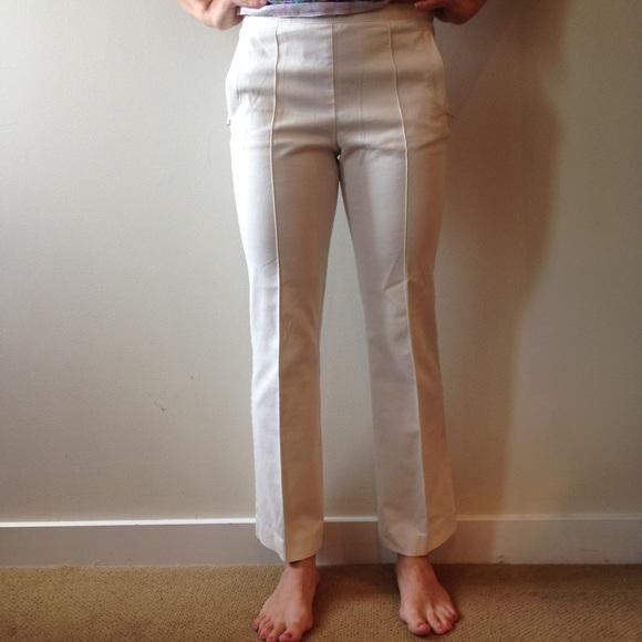 LOFT - Ann Taylor LOFT white dress pants, size 4 petite from ...