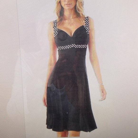 c2763a524df Dresses   Skirts - Black Cocktail dress - size 14 Petite