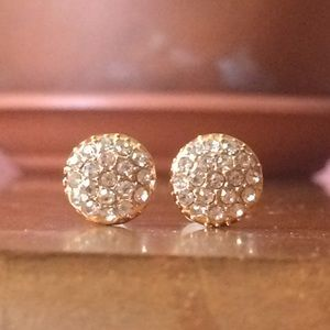 Jewelry - HP Crystal Post Stud Earrings