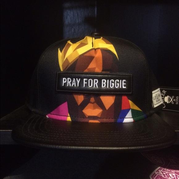 Pray for Biggie SnapBack. NWT. Cayler   Sons f6ff644a9ab