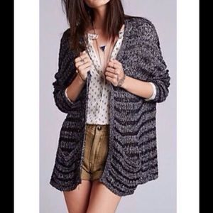 FREE PEOPLE ABOUT LAST NIGHT CARDIGAN IN BLACK