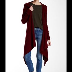 FREE PEOPLE SLOAN HOODED CARDIGAN