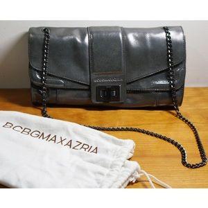 BCBGMAXAZRIA Silver Bag - used only twice