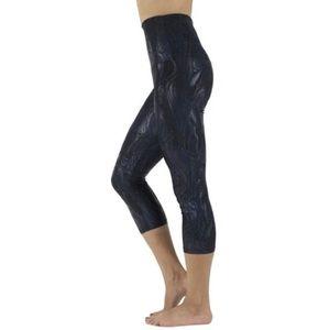 Emily Hsu Designs Pants - Black Laquer Capris
