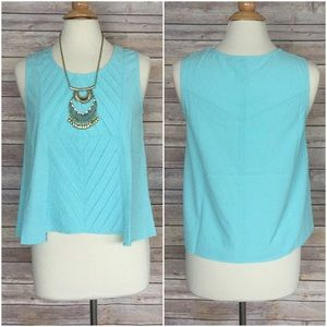 Tops - Beautiful pale blue top Sz S M L