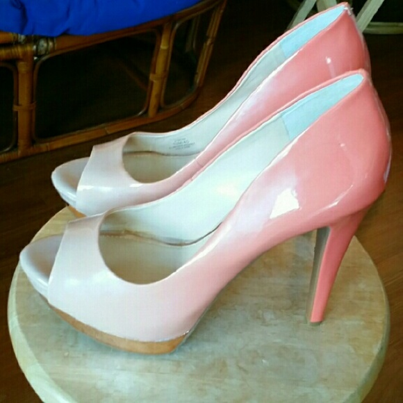 d134b8d143 Jessica Simpson Shoes - Romantic Pink Ombre Heels Jessica Simpson 10