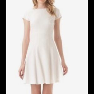Leona by Lauren Leonard white short sleeve dress