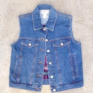 Never worn Pendleton Jean vest x's