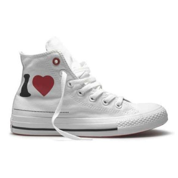 Converse Shoes - I Heart ❤ Blank High Top Converse ae66f54d7