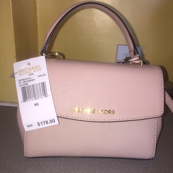 f9233011270a ... Michael Kors AVA xs crossbody by Airiya - YouTube Mini Ava Saffiano  leather crossbody purse ...
