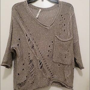 Willow and Clay Sweater