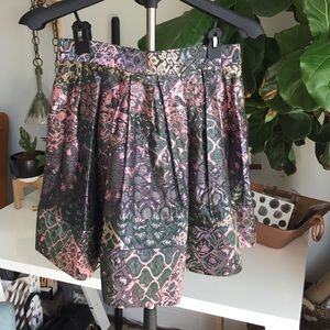 camilla & marc Dresses & Skirts - Camilla and Marc Tapestry Print Skirt 8