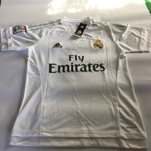 new products f2a69 4187d Adidas Tops | Real Madrid Authentic Ronaldo Jersey Home ...