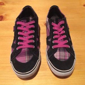 Chaussures Vans Femmes Taille 7,5 Noir