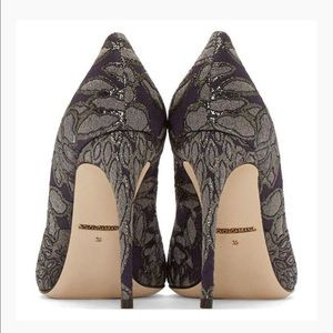 Dolce & Gabbana Jacquard Kate Pumps