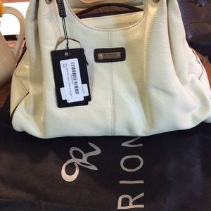 Rioni Handbags - NWT Cream Rioni Leather virtual Casual