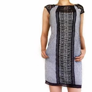 Anthropologie Dresses & Skirts - Anthropologie checkered lace dress