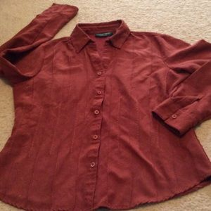 ef8c863d0af0e Burned orange color top size medium⬇ ⬇️