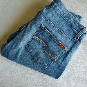 Tilt Denim - TILT ✂️ Skinny Bootcut Light-wash Jeans 5R