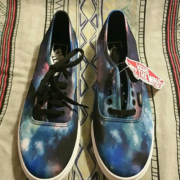 620bbadd42 Authentic Lo Pro Cosmic Galaxy Vans