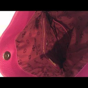 Tory Burch Bags - Tory burch magenta envelope clutch and purse